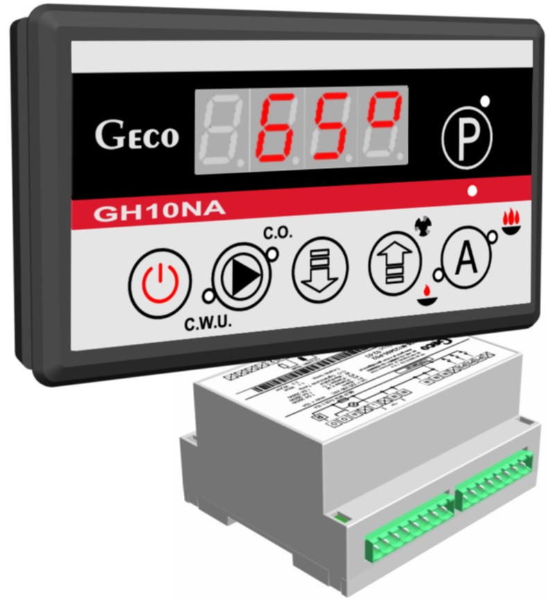 Heating controllers / Solid fuel controllers for boilersGeco ...